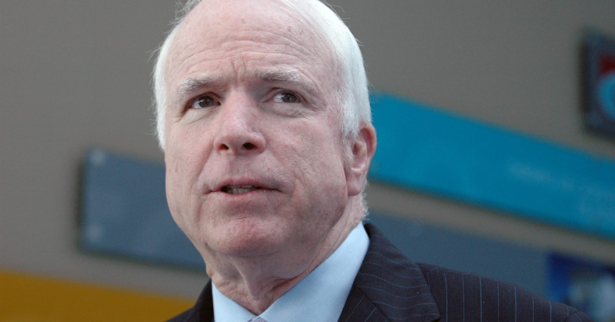 Why The Media Is Really Laying on the High Praise for John McCain - Great American Republic
