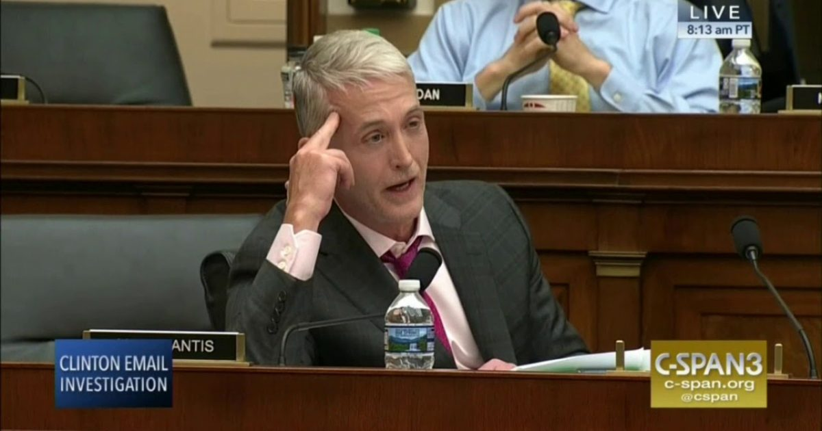Trey Gowdy Knows Who's Really At Risk With the Russian Investigation Documents - Great American Republic