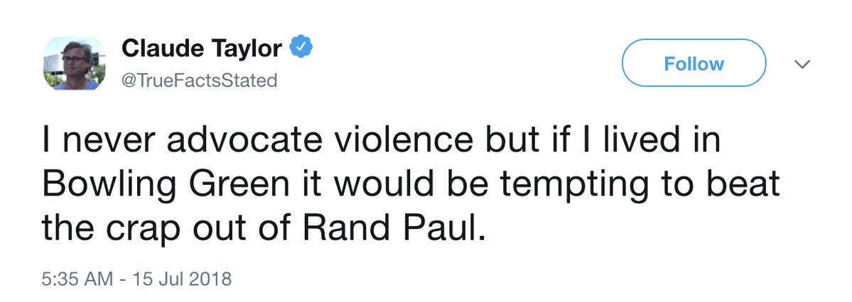 Former Clinton White House Staffer Tweets and Then Deletes Vicious Attack on Rand Paul