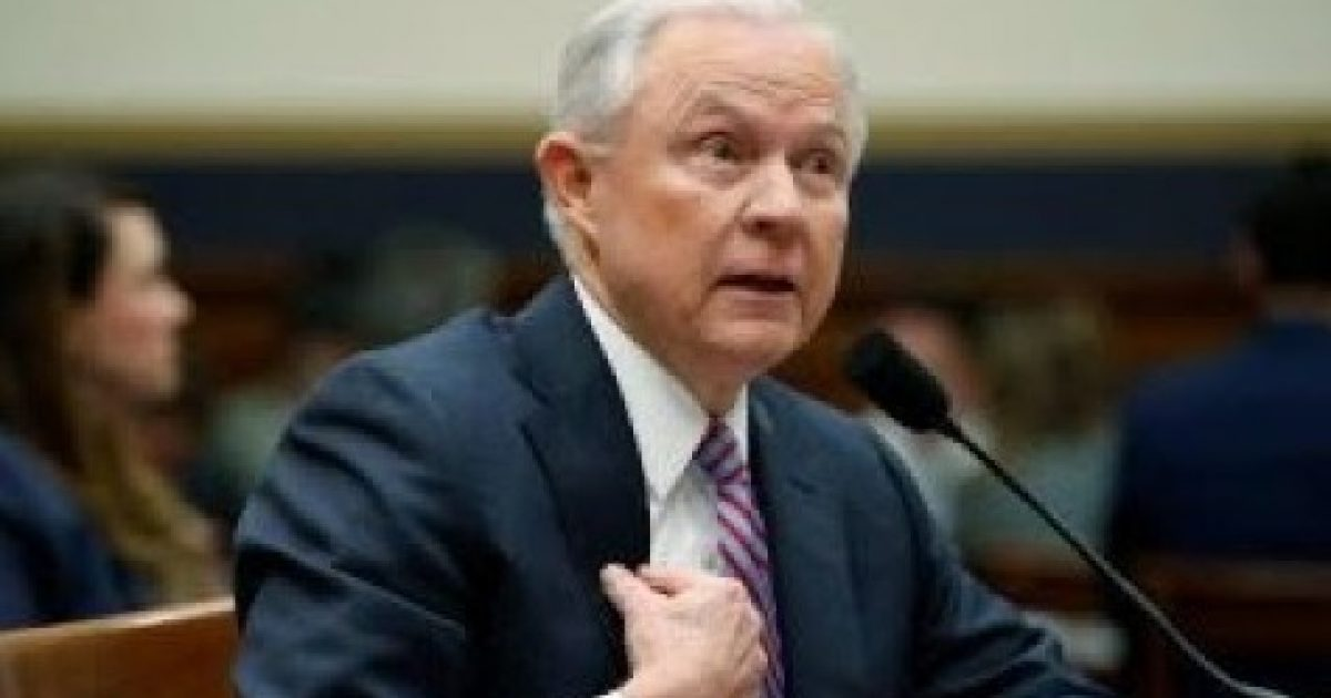 Trump Unloads on Jeff Sessions - Great American Republic