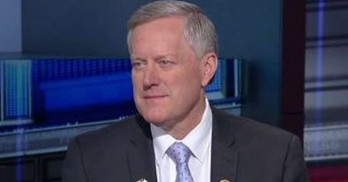 Rep Mark Meadows Sends Demand Letter to AG Jeff Sessions - Great American Republic
