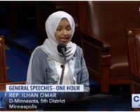 WATCH: Omar Openly Mocks Conservative Christians From Floor of House of Representatives