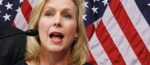 Senator Kirsten Gillibrand moves to protect Senator Kirsten Gillibrand
