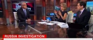 Watch CNN Hosts Try to Eat Crowe After Trump Wiretap Story