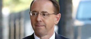 Senator Swoops In to 'Protect' Rod Rosenstein