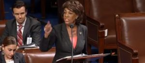 Maxine Waters Angrily Responds to accusations her office Doxxed GOP Senators