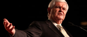 Newt Gingrich Blames Divisive Media for Earning the Label 'Enemy of the People'